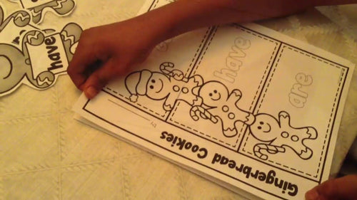 Gingerbread Kids Writing Activity
