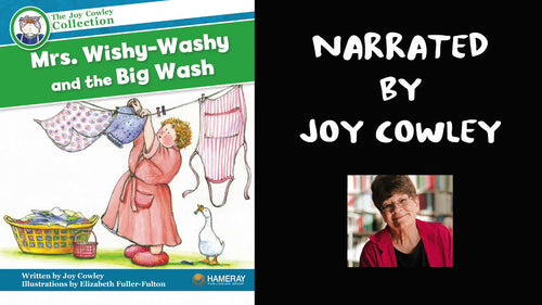 Joy Cowley Narrates Mrs. Wishy-Washy and the Big Wash