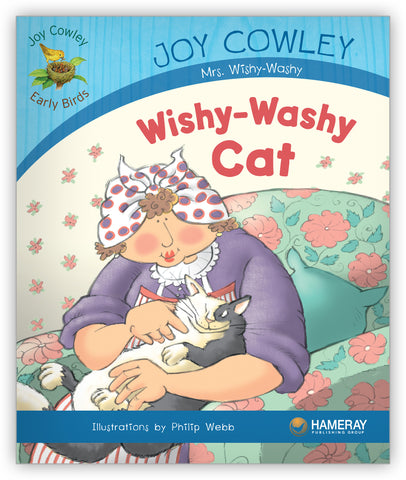 Wishy-Washy Cat Big Book