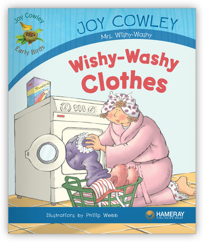 Wishy-Washy Clothes Big Book