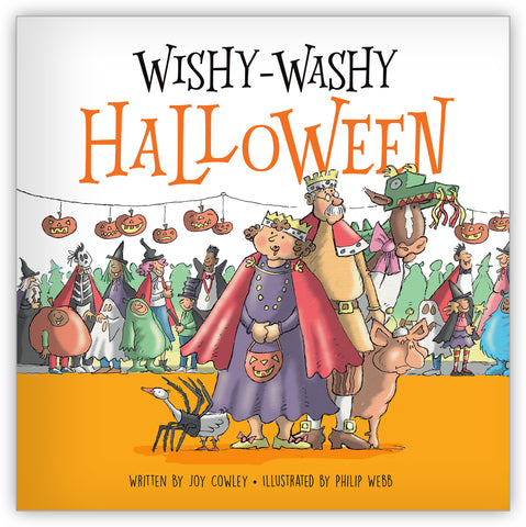 Wishy-Washy Halloween Big Book