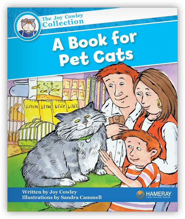 A Book for Pet Cats from Joy Cowley Collection