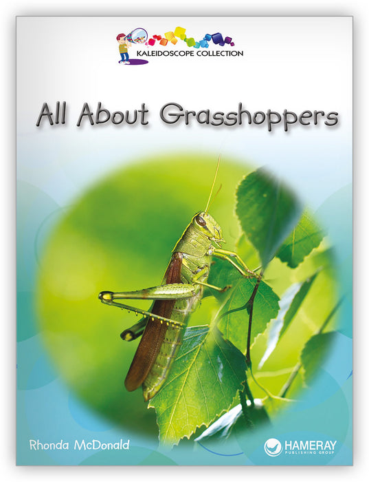 All About Grasshoppers Big Book Leveled Book