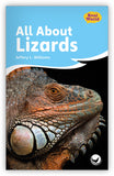 All About Lizards Leveled Book