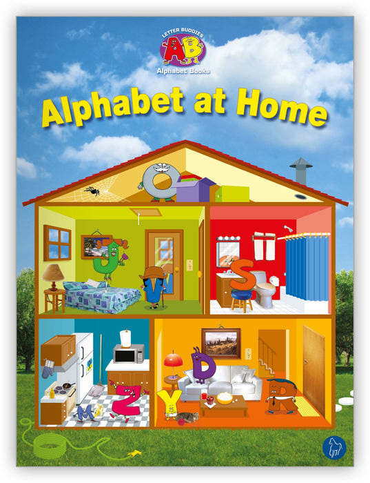 Alphabet at Home Lap Book from Letter Buddies