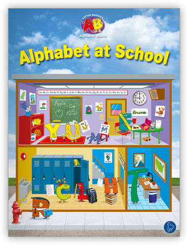 Alphabet at School Lap Book from Letter Buddies