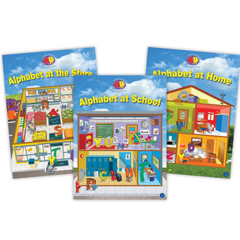 Alphabet Lap Book Set from Letter Buddies