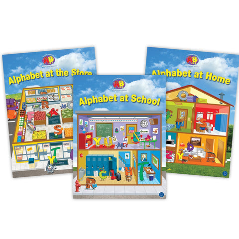 Alphabet Lap Book Set Image Book Set