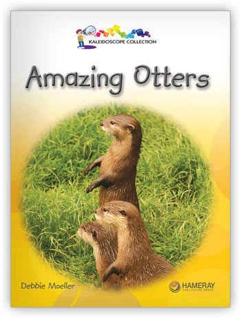 Amazing Otters from Kaleidoscope Collection