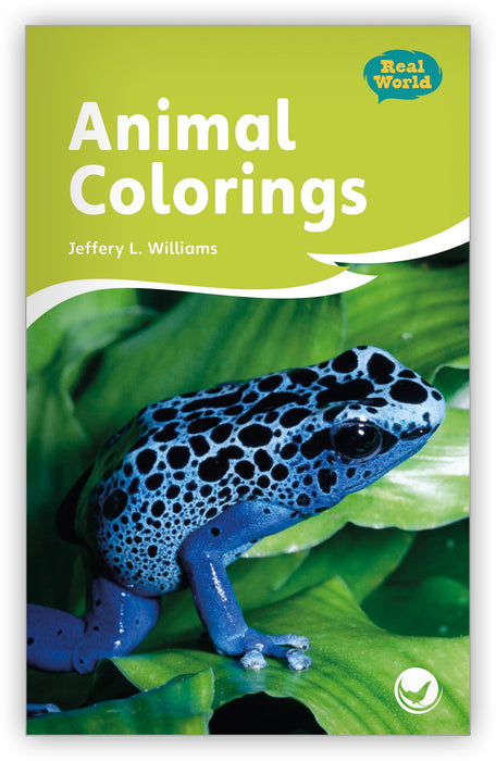 Animal Colorings Leveled Book