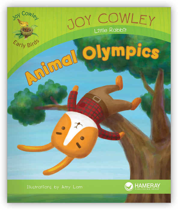 Animal Olympics Leveled Book