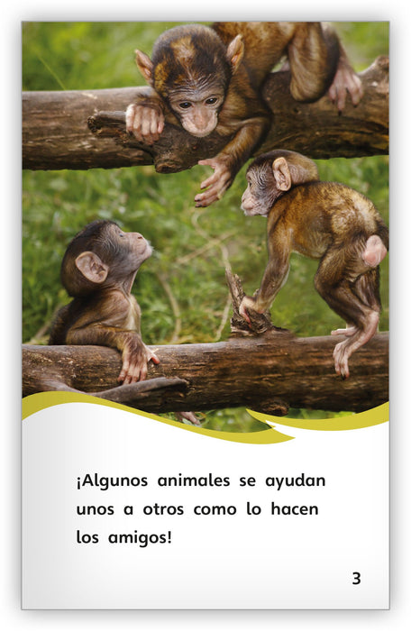 Animales como ayudantes from Fábulas y el Mundo Real