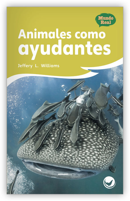 Animales como ayudantes Leveled Book