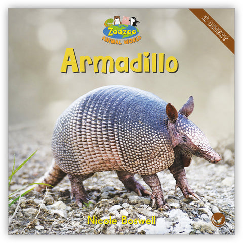 Armadillo Big Book from Zoozoo Animal World