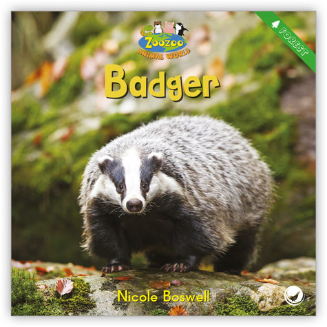 Badger from Zoozoo Animal World