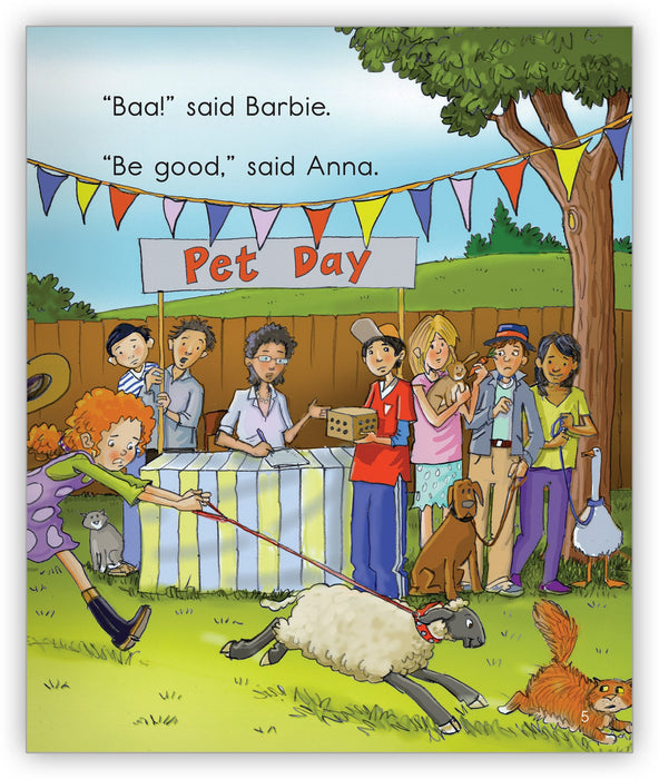 Barbie at Pet Day Leveled Book