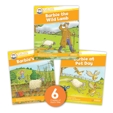 Barbie the Lamb Guided Reading Set from Joy Cowley Collection