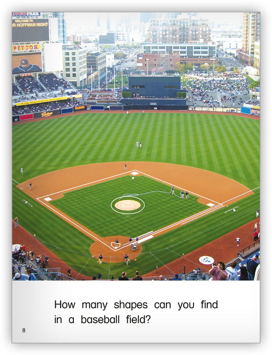Baseball Shapes Leveled Book