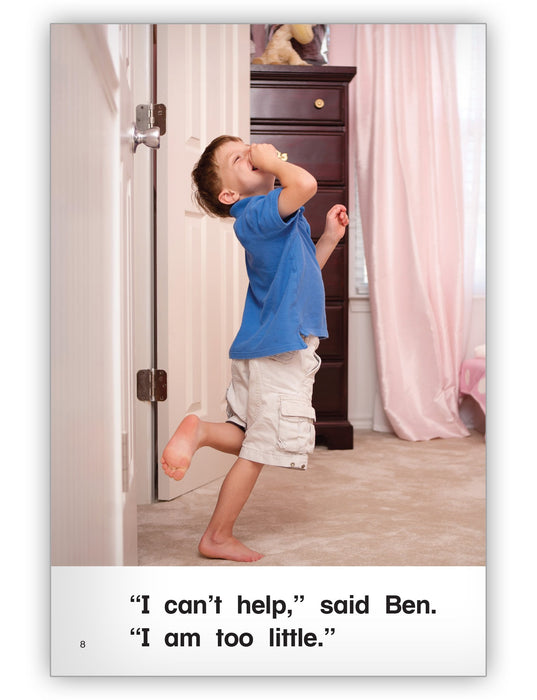 Ben, the Big Brother Leveled Book