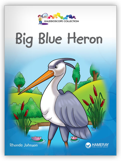 Big Blue Heron from Kaleidoscope Collection