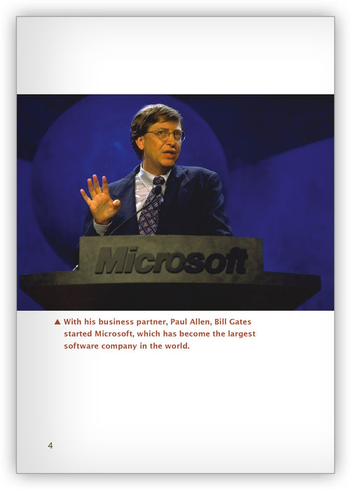 Bill Gates from Hameray Biography Series