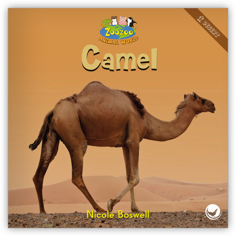 Camel Big Book from Zoozoo Animal World