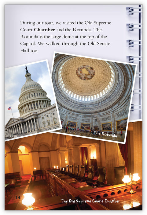 Capital Fun: Exploring Washington, DC Leveled Book