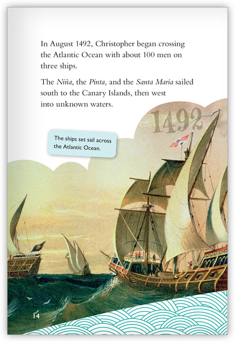 Christopher Columbus: Crossing the Atlantic from Inspire!