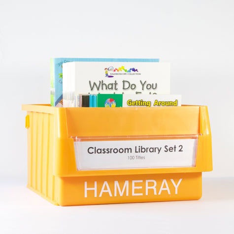 Classroom Library Set 2 Photo Book Set