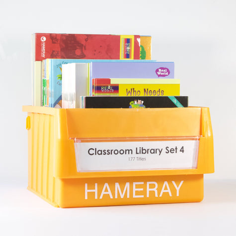 Classroom Library Set 4 Photo Book Set