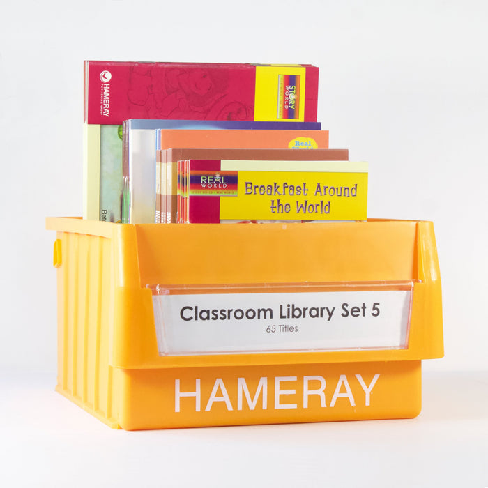 Classroom Library Set 5 Photo Book Set