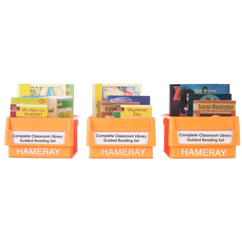 Complete Classroom Library Guided Reading Set Photo Book Set