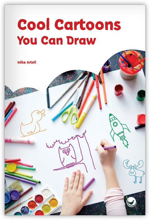 Cool Cartoons You Can Draw Leveled Book