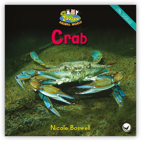 Crab Big Book from Zoozoo Animal World