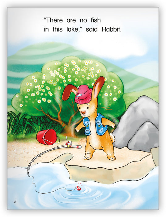 Duck and Rabbit Go Fishing Big Book