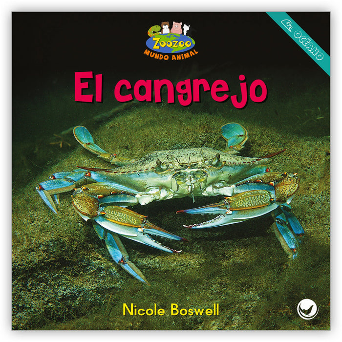 El cangrejo Leveled Book