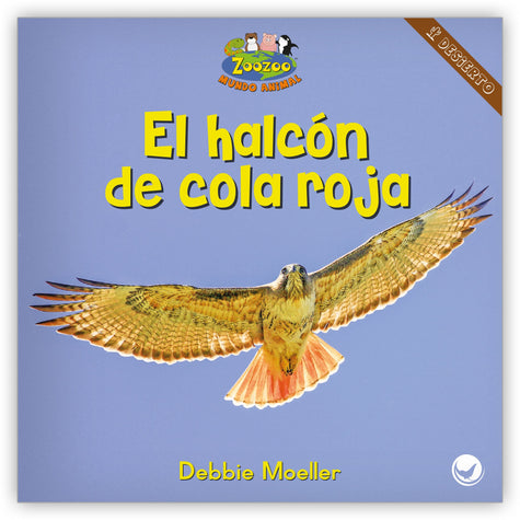 El halcón de cola roja from Zoozoo Mundo Animal