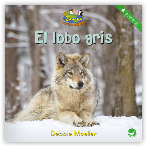 El lobo gris from Zoozoo Mundo Animal
