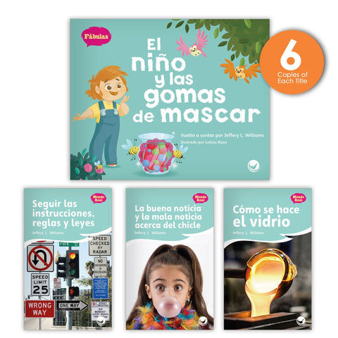 El niño y las gomas de mascar Theme Guided Reading Set from Fábulas y el Mundo Real