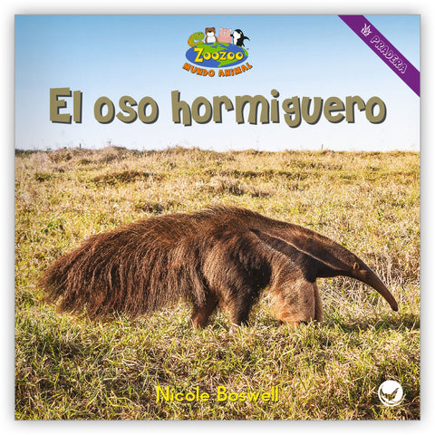 El oso hormiguero from Zoozoo Mundo Animal