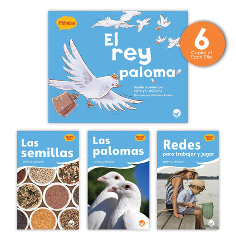 El rey paloma Theme Guided Reading Set from Fábulas y el Mundo Real