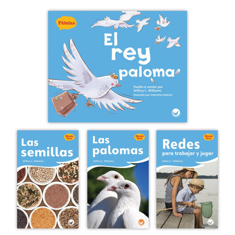El rey paloma Theme Set from Fábulas y el Mundo Real