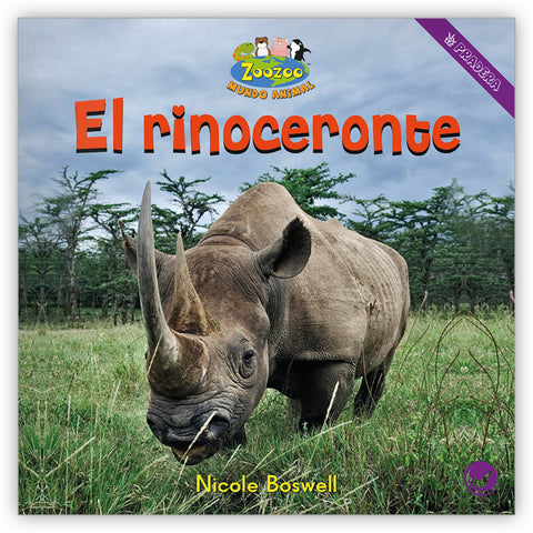 El rinoceronte from Zoozoo Mundo Animal