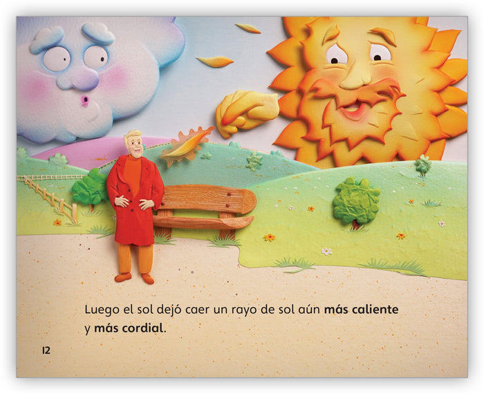 El viento del norte y el sol Big Book from Fábulas y el Mundo Real