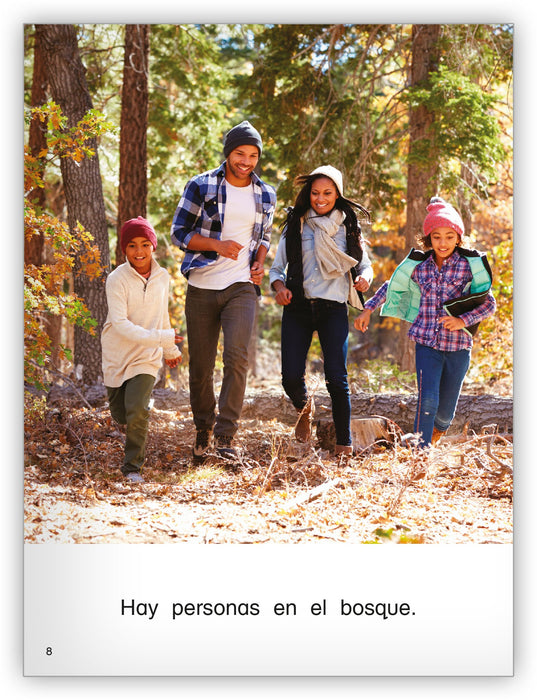 En el bosque Leveled Book