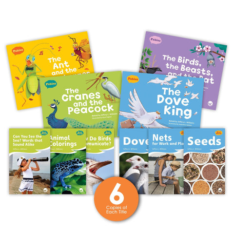 Fables & the Real World Guided Reading Set and Big Books from Fables & the Real World
