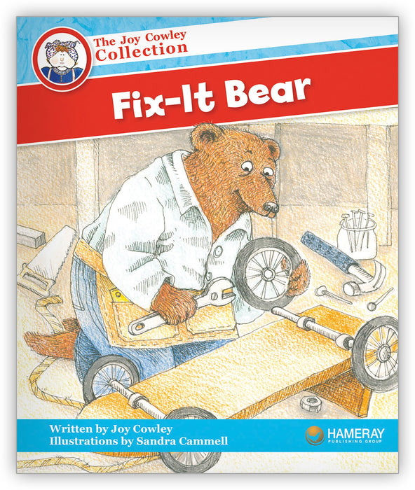 Fix-It Bear Leveled Book