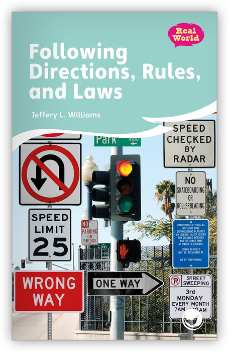 Following Directions, Rules, and Laws Leveled Book