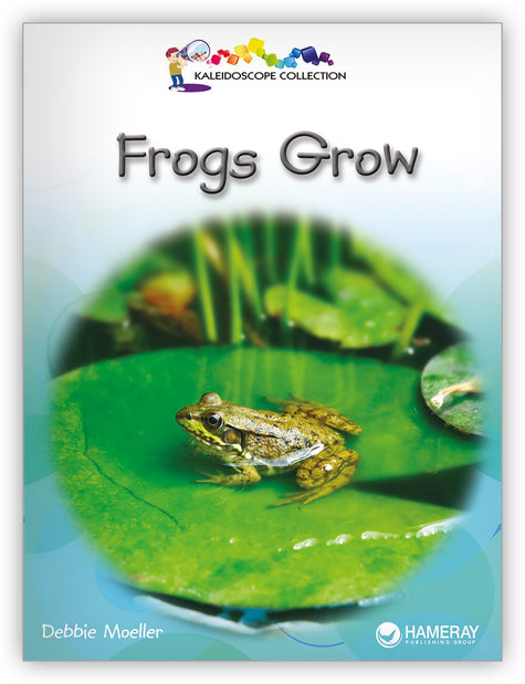 Frogs Grow Big Book from Kaleidoscope Collection
