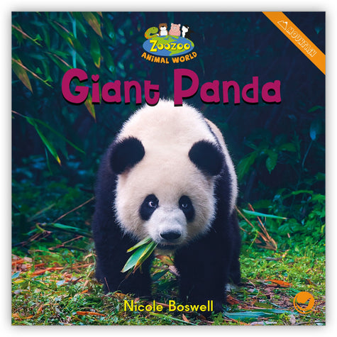 Giant Panda Big Book from Zoozoo Animal World
